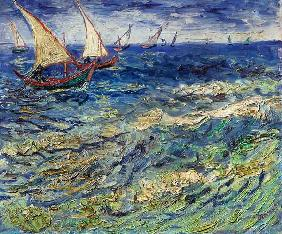 van Gogh, Vincent : Seascape at Saintes-Maries...