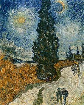 van Gogh, Vincent : Road with Cypresses