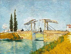 van Gogh, Vincent : The Langlois Bridge at Arl...