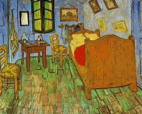 van Gogh, Vincent : Van Gogh's Bedroom at Arle...