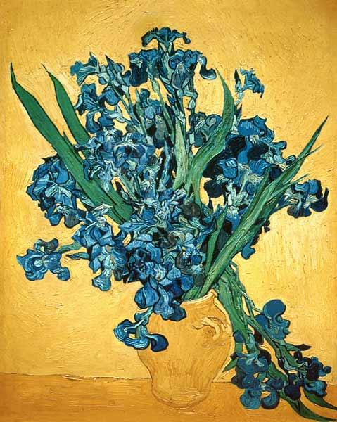 Bunch of Irises 1890