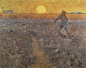 van Gogh, Vincent : Sower With Setting Sun