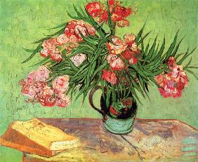 van Gogh, Vincent : Still life with oleander a...