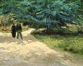 Couple in the park, Arles