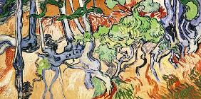 V.v.Gogh / Tree roots and tree trunks