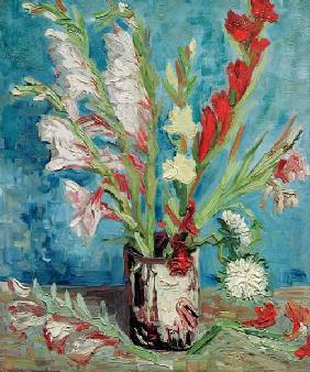 Vincent van Gogh / Vase with Gladioli