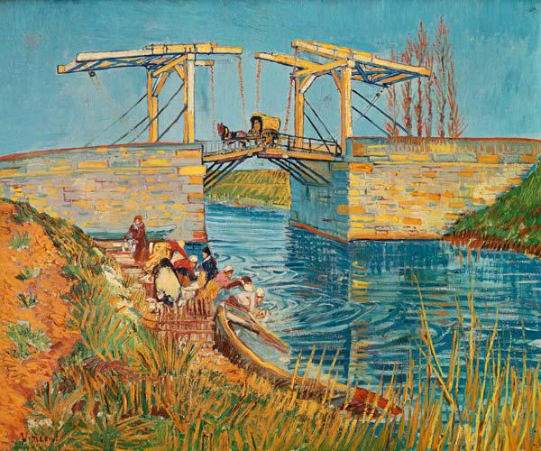 The Langlois Bridge at Arles 1888