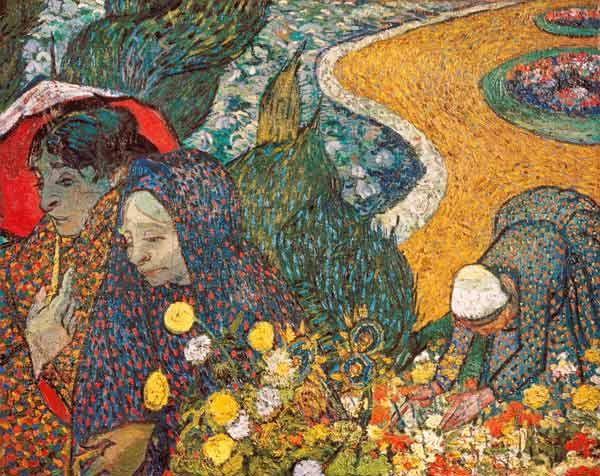 Ladies of Arles (Memories of the Garden at Etten)