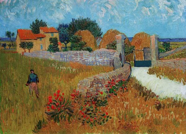 V.van Gogh / Farmhouse in Provence