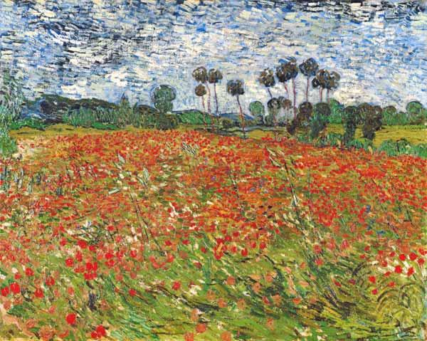 Field of Poppies, Auvers-sur-Oise 1890