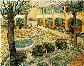 van Gogh, Vincent : The Asylum Garden at Arles