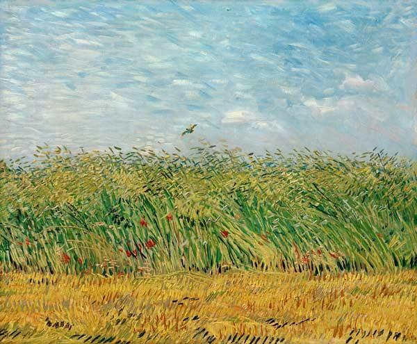 Wheatfield with Lark 1887