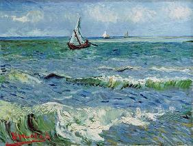 van Gogh, Vincent : V.van Gogh, Sea at St.Mari...