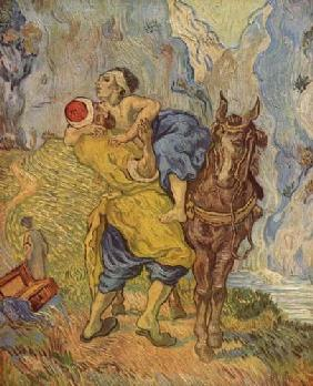 The Good Samaritan (after Delacroix) 1889