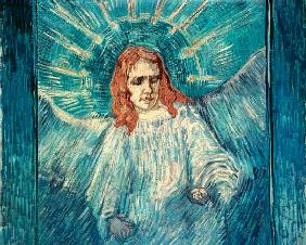van Gogh, Vincent : Half figure of an angel