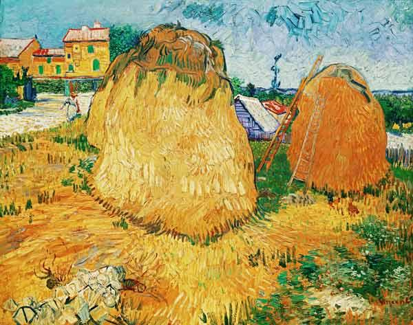 van Gogh, Vincent : Barn in the Provence