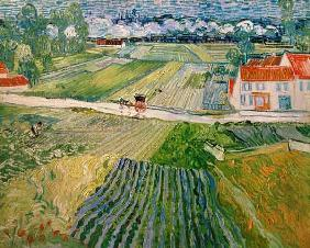 Landscape at Auvers after the Rain