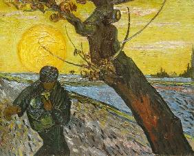 Sower with Setting Sun, detail 1888