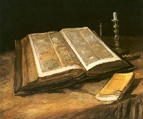 van Gogh, Vincent : Still life with Bible