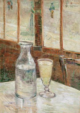 Still life with absinth