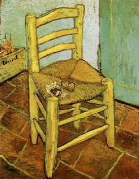 van Gogh, Vincent : Vincent's chair with pipe