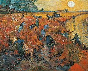 van Gogh, Vincent : Red Vineyards