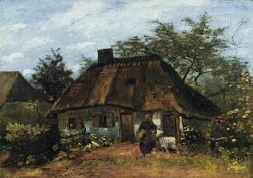 Farmhouse in Nuenen (La Chaumière)