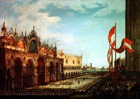 The Return of the St. Mark Troops to Venice