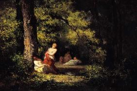 Four Nymphs in a Wood