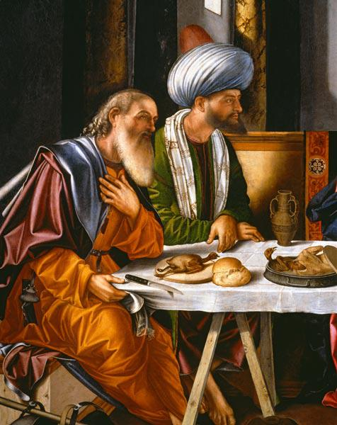 V.Carpaccio / Christ in Emmaus / Paint.