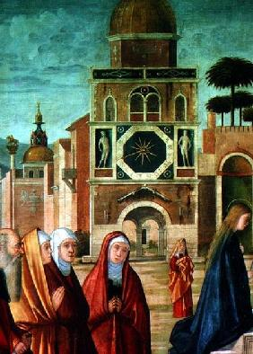 Presentation of Mary at the Temple (detail of Mary)