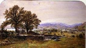 Lady in a Landscape, Ambleside