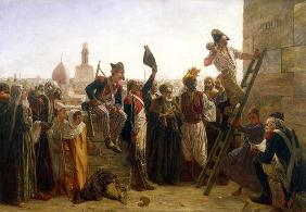 The French in Cairo in 1800, 1884 (oil on canvas)