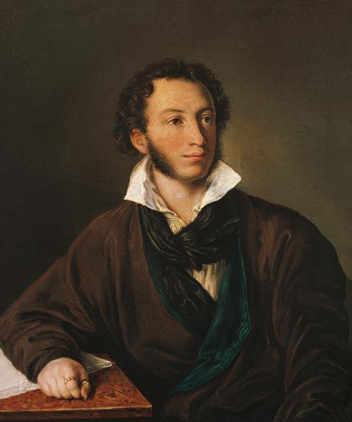 Portrait of Alexander Pushkin (1799-1837)