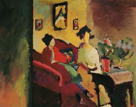 Interior Gabriele Münter and Marianne v.Werefkin