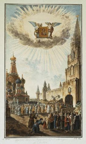 Feast of the Icon of Our Lady of Kazan on the Red Square