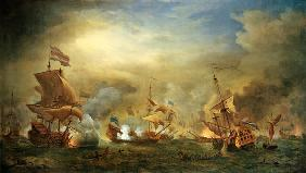 van de Velde d.J., Willem : The Battle of the Texel, K...