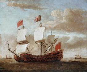 van de Velde d.J., Willem : The British Man-o'-War