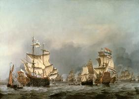 van de Velde d.J., Willem : The Surrender of the Royal...