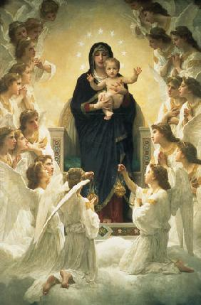 Bouguereau, William Adolphe : The Virgin with Angels