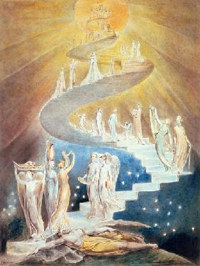 Blake, William : Jacob's Ladder