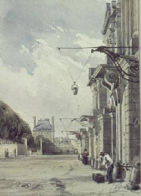 The Rue de Rivoli, near the Tuileries, Paris