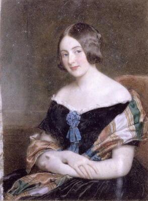 Frances Harriet Greville Oil On Canvas William Charles