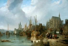The Cologne cathedral 1826/1835