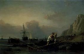 Stanfield, William Clarkson : Shrimping