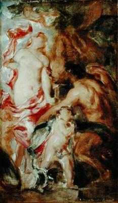 Allegorical Study, A Sketch (oil on canvas)