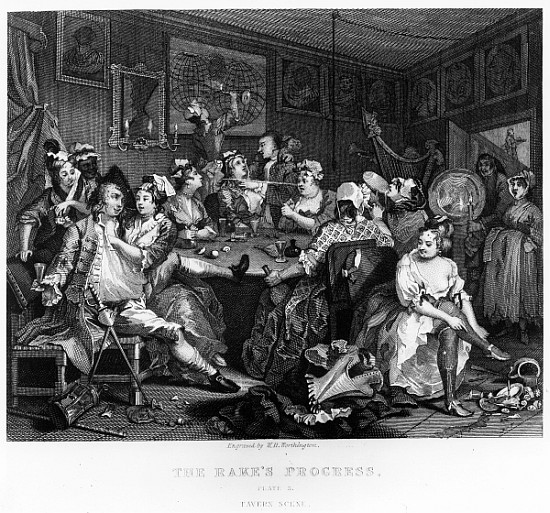 william hogarth the orgy