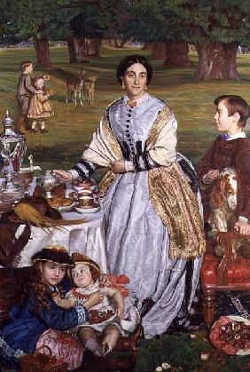Lady Fairbairn with her Children