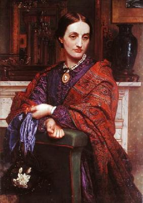 Portrait of Fanny Holman Hunt (1833-66)