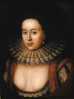 Portrait of Frances Howard (1590-1632) Countess of Somerset
